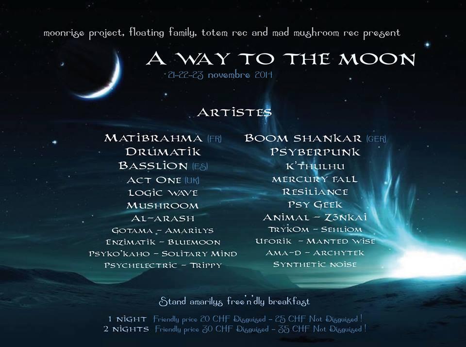Basslion Djset @ A way to the moon
