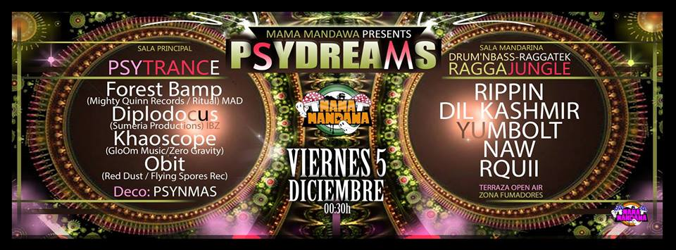 Khaoscope Live@ Psydreams Barcelona
